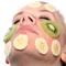 Μάσκα προσώπου με οξέα φρούτων